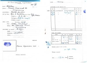 Payment and personal details of a Himalayan expedition member